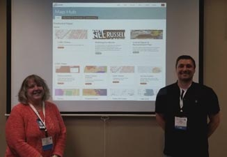 Jane Poole and Jess Hamner presented at the 2018 Kentucky Digital Summit.